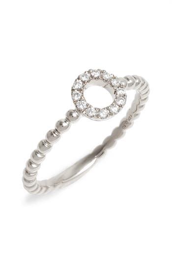 Women's Dana Rebecca Designs Poppy Rae Diamond Circle Ring