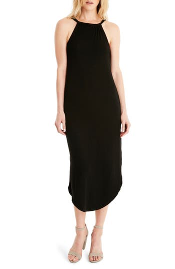 Michael Stars Front To Back Midi Dress, Black