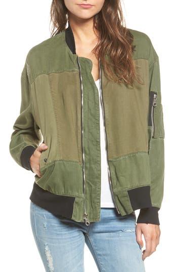 Women's Hudson Jeans Gene Bomber Jacket