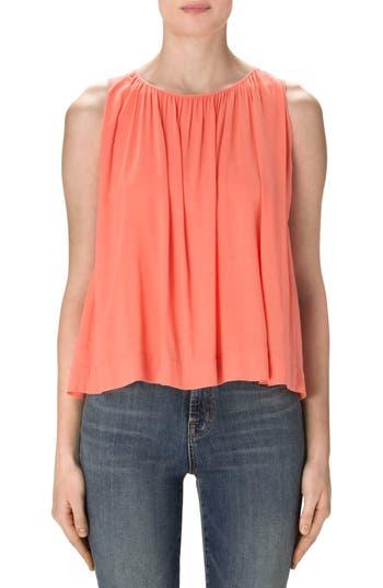Women's J Brand Isla Sleeveless Blouse, Size X-Small - Orange