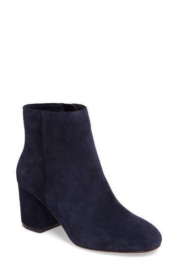 Splendid Daniella Block Heel Bootie- Blue