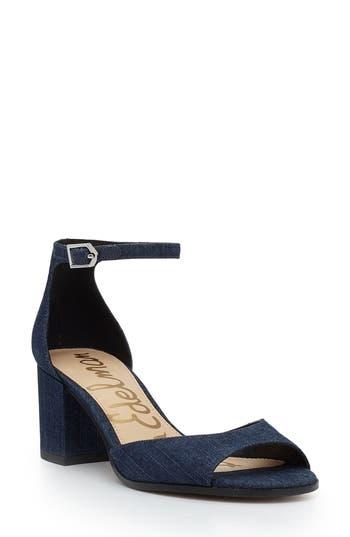Women's Sam Edelman Susie D'Orsay Ankle Strap Sandal