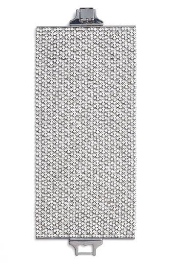 CRISTABELLE | Women's Cristabelle Wide Crystal Bracelet | Goxip