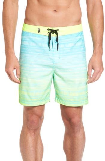 Hurley Natividad Board Shorts, Green