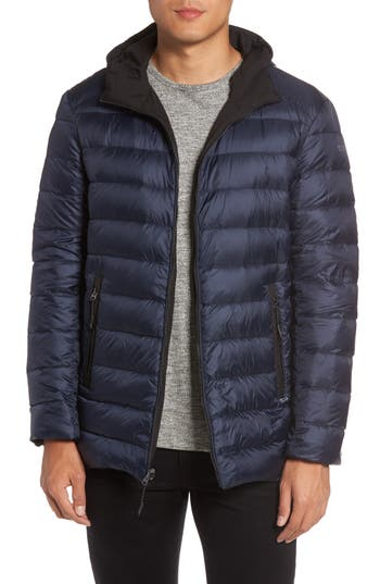 Tumi Reversible Down Jacket, Black