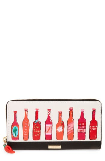Kate Spade New York Spice Things Up Lacey Wallet - Ivory