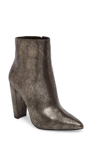Jessica Simpson Teddi Crescent-Heel Bootie, Black