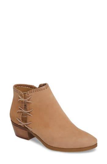 Jack Rogers Reagan Split Shaft Bootie- Brown