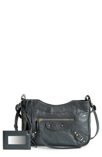 Balenciaga Hip Leather Crossbody Bag -