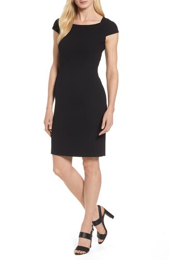 Women's Boss Dalikana Crepe Sheath Dress