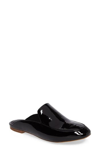 Jeffrey Campbell Worthy Loafer Mule, Black