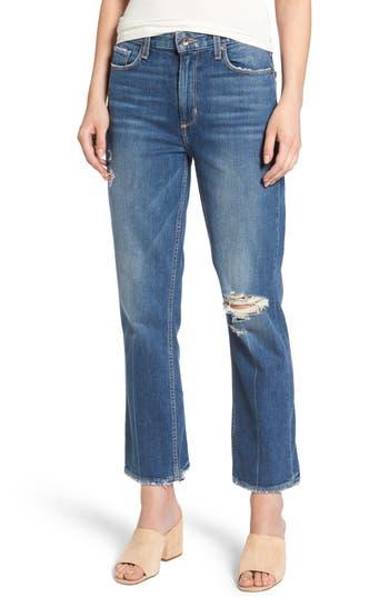 Women's Paige Vintage - Sarah High Waist Crop Straight Leg Jeans