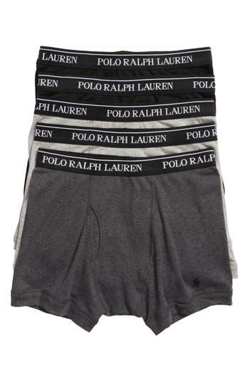 Men's Polo Ralph Lauren 5-Pack Cotton Boxer Briefs