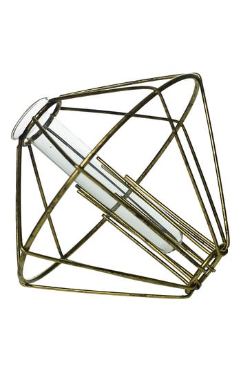 Accent Decor Diamond Bud Vase, Size One Size - Black