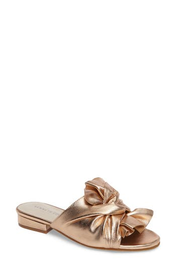 Kenneth Cole New York Violet Slide Sandal- Pink