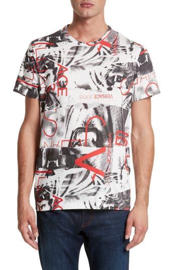 Versace Jeans Print T-Shirt, White