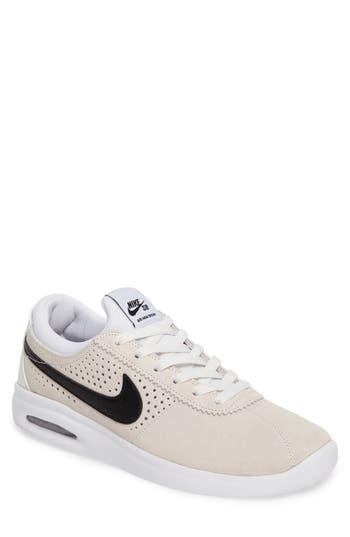 Nike Sb Air Max Bruin Vapor Skateboarding Sneaker, White