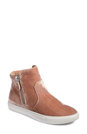 Gentle Souls Carole Zip Sneaker, Pink