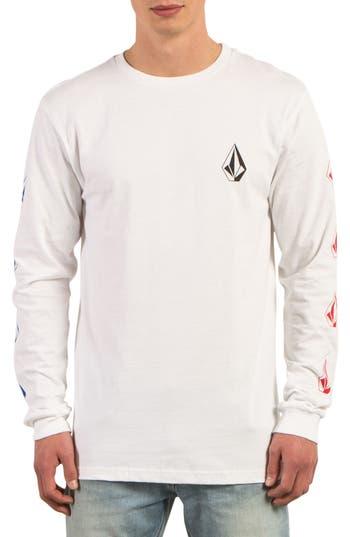 Volcom Deadly Stones Long Sleeve T-Shirt, White