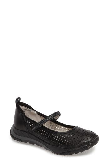 Jambu Bailey Perforated Mary Jane Sneaker, Black
