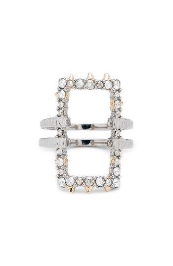 Women's Alexis Bittar Elements Crystal Encrusted Ring