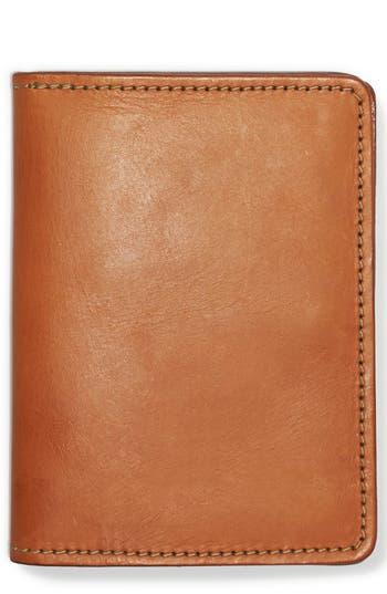 Filson Leather Passport Case - Brown