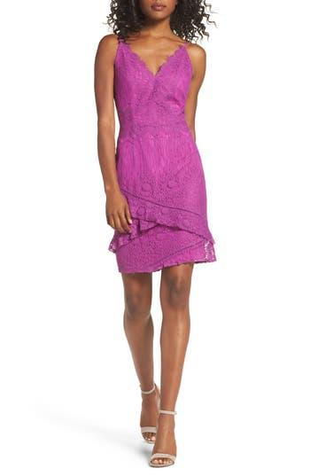 Adelyn Rae Lace Sheath Dress, Pink