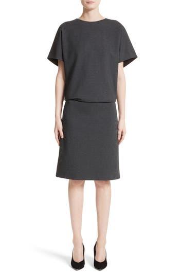 Lafayette 148 New York Blouson Dress, Size Petite - Grey