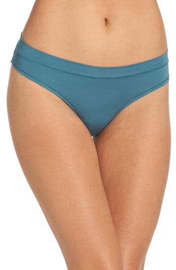 Zella Body Mesh Active Bikini, Blue/green