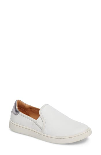 Ugg Cas Slip-On Sneaker, White
