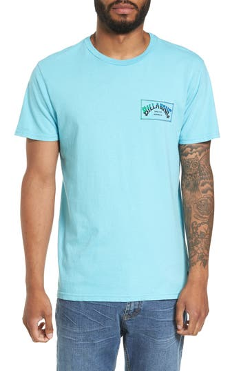 Billabong Boxed Arch T-Shirt, Blue/green