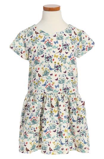 Girl's Tea Collection Heather Drop Waist Dress