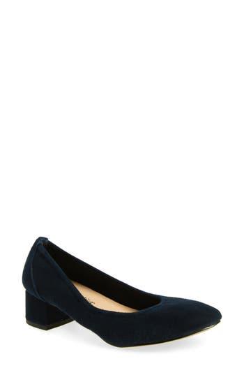 Bella Vita Matisse Block Heel Pump, Blue