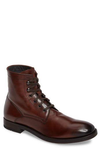To Boot New York Astoria Plain Toe Boot, Brown
