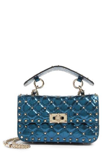 Valentino Garavani Small Rockstud Spike Lambskin Shoulder Bag -