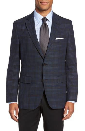 Boss Jeen Trim Fit Wool Sport Coat, S - Blue