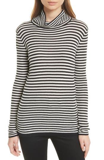 Women's Soft Joie Zelene Stripe Cowl Neck Sweater, Size X-Small - Beige