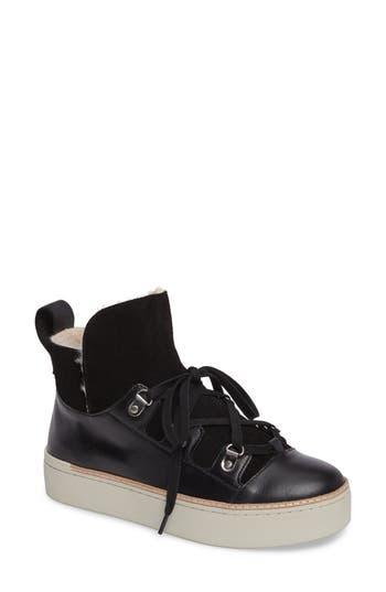 M4D3 Sierra Faux Fur Platform Sneaker
