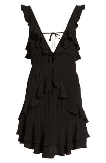For Love & Lemons Poppy Minidress, Black