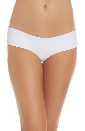 Mikoh Bondi Bikini Bottoms, White