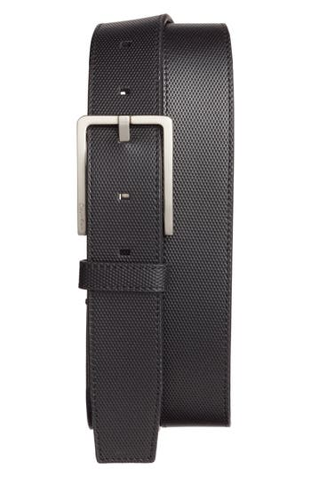 Calvin Klein Leather Belt, Black