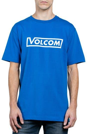 Volcom Logo T-Shirt, Blue