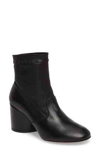 Robert Clergerie Koss Pull-On Bootie - Black