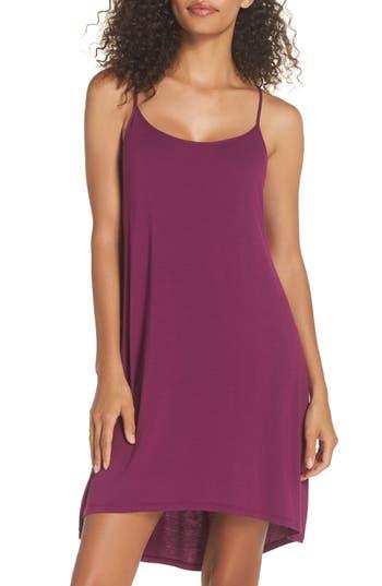 Women's Josie Tees Chemise, Size Small - Purple