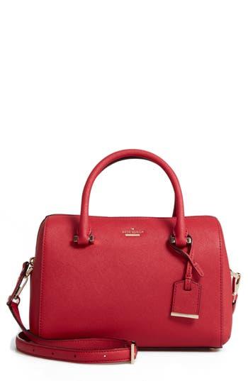 Kate Spade New York Cameron Street Large Lane Leather Satchel - Red