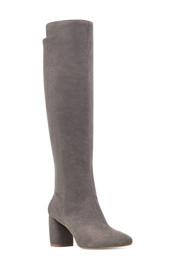 Nine West Kerianna Knee High Boot- Grey