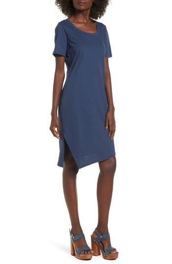 Socialite T-Shirt Dress, Blue
