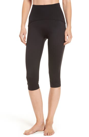 Spanx Compression Capris, Black