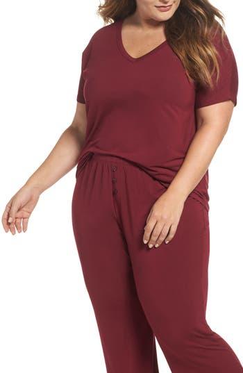 Plus Size Women's Pj Salvage V-Neck Tee