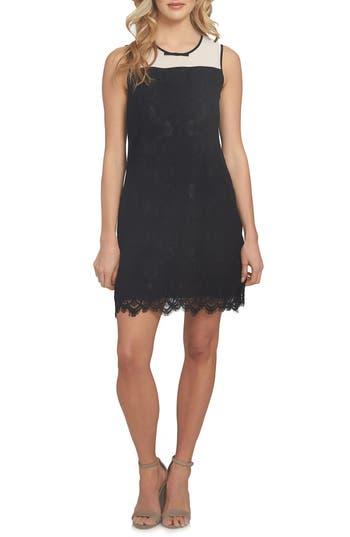 Cece Savannah Shift Dress, Black